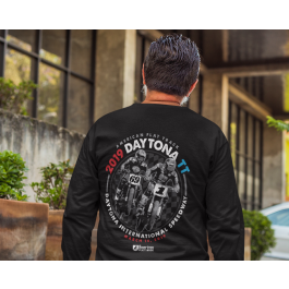 2019 Daytona TT Black Long Sleeve Event T-Shirt