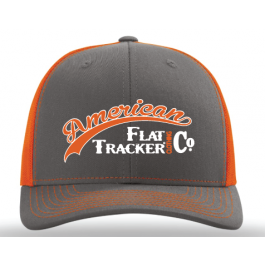 AFTCC: 2018 Hat -  Snapback Charcoal Orange