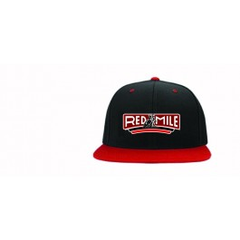2019 Red Mile Men's Black/Red Embroidered Snapback Event Hat