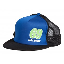 Sammy Halbert Blue 69 Hat