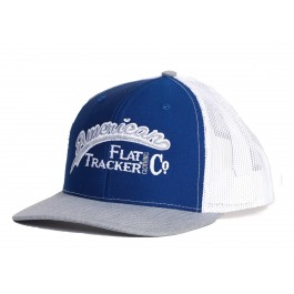 AFTCC: Blue White Snapback Hat