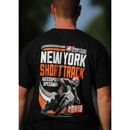2019 New York Short Track Black Event T-Shirt