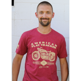 AFTCC Men's Maroon Schematic T-Shirt