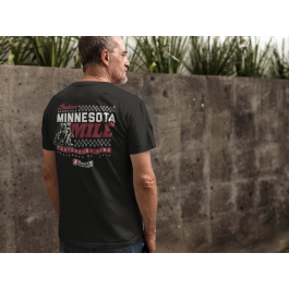 2018 Minnesota Mile Men's Black Event T-Shirt
