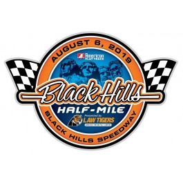 2019 Black Hills Half-Mile Event Sticker