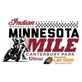 2019 Minnesota Mile Event Sticker
