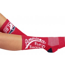 AFTCC: Red Crew Socks
