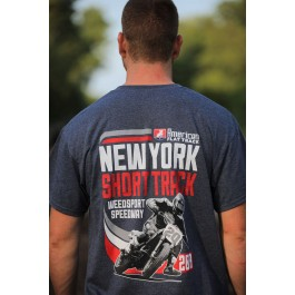 2019 New York Short Track Blue Event T-Shirt