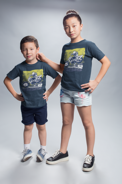 Shayna Texter: Youth Blue Graphic T-Shirt