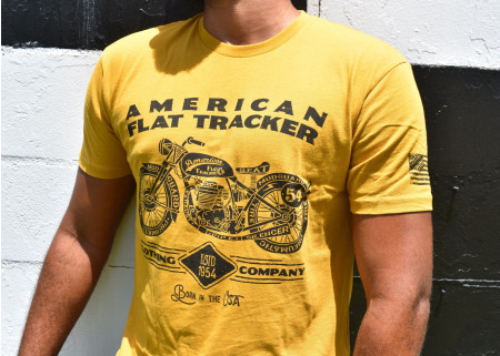 AFTCC: Men's Antique Gold Schematic T-Shirt
