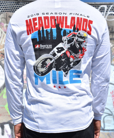 2019 Meadowlands Mile Long Sleeve Event T-Shirt