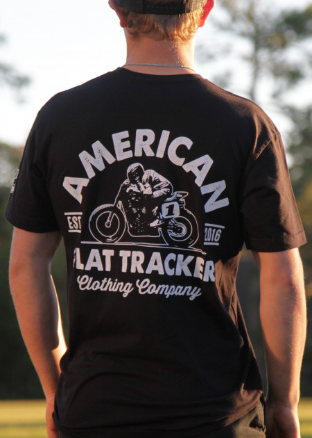 AFTCC: Men's Black Crest T-Shirt