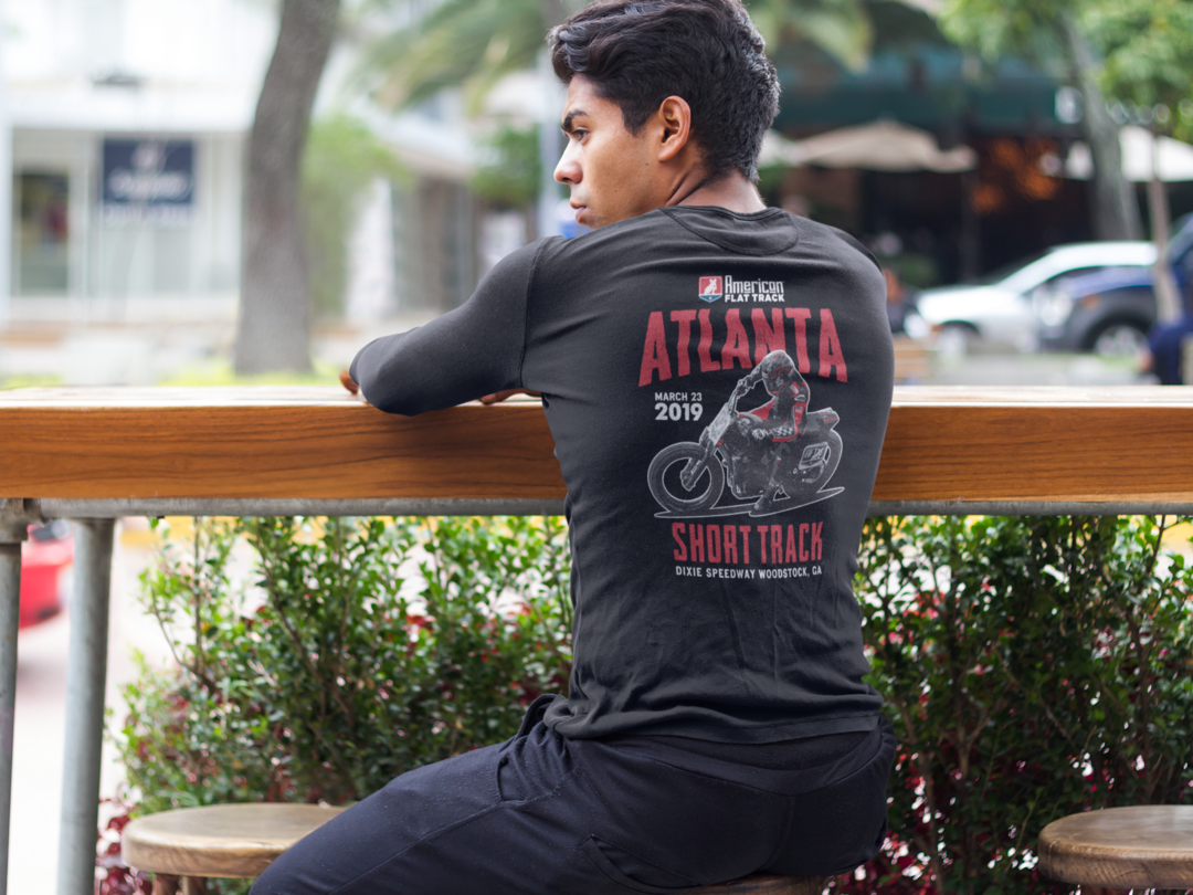 2019 Atlanta Short Track Long Sleeve Event T-Shirt