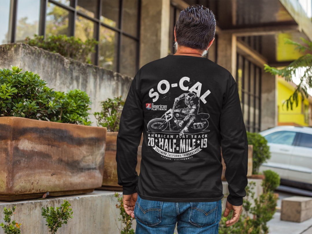 2019 So-Cal Half-Mile Men's Long Sleeve Event T-Shirt