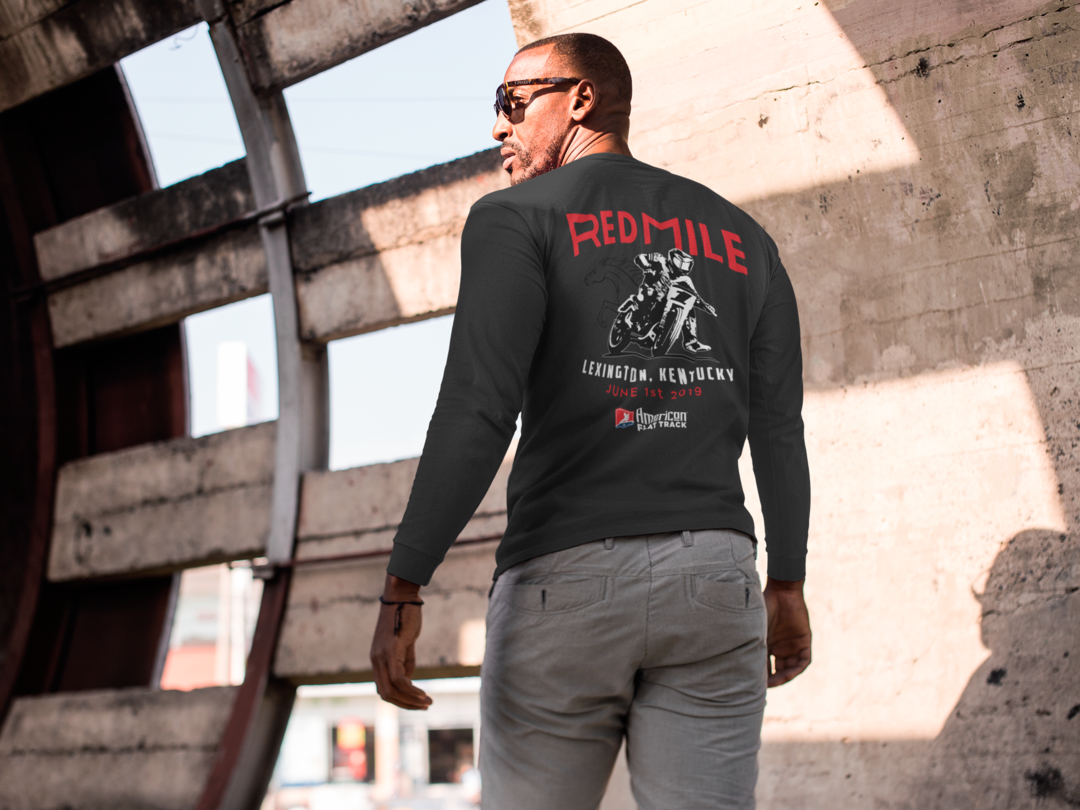 Event: 2019 Red Mile - Men's Long Sleeve T-Shirt Black