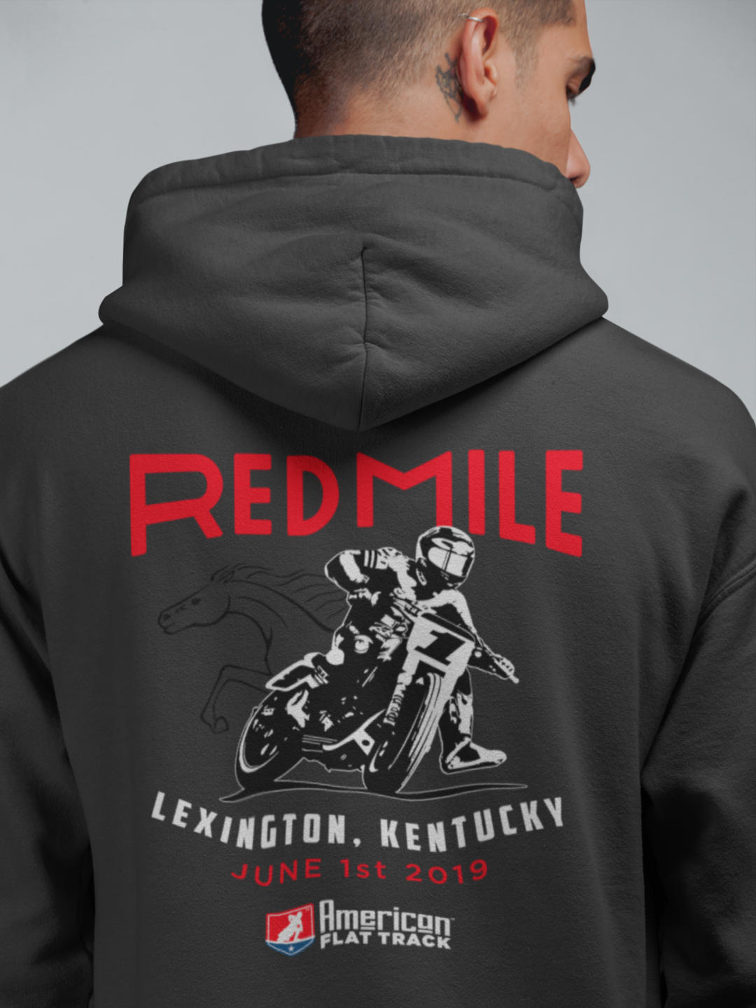 2019 Red Mile Event Hoodie