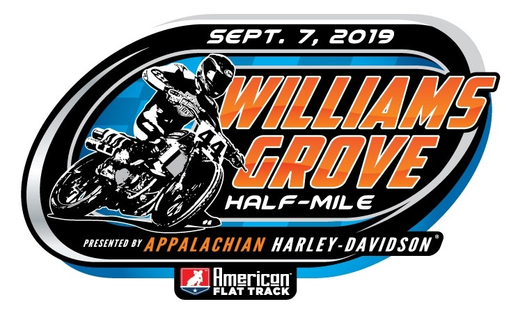 2019 Williams Grove Half-Mile Event Sticker