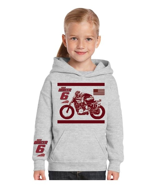 YOUTH - AUTHENTIC BRAD BAKER HOODY - HEATHER GREY