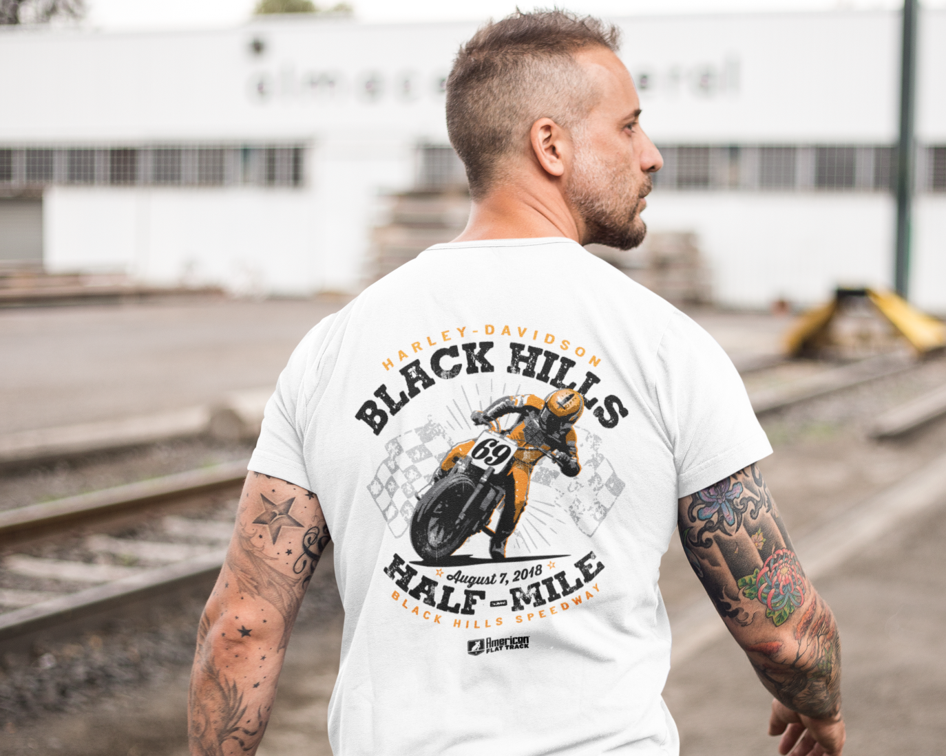 Event: 2018 Black Hills - Men's Shirt White