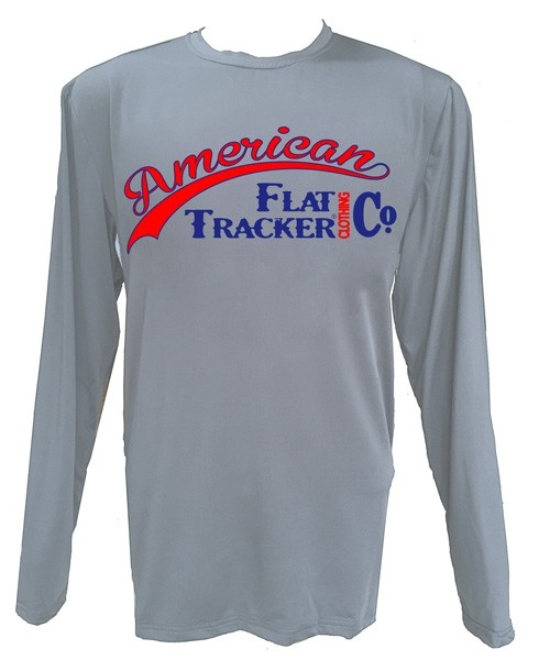 FISHWARE BLUE/RED PERFORMANCE LONG SLEEVE - WHITE SIDE PANELS