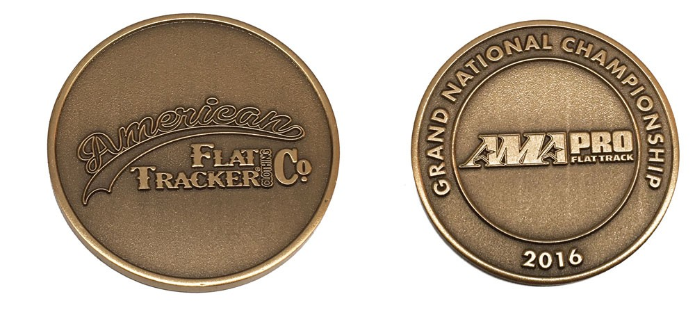 American Flat Tracker / AMA Pro Flat Track Collectible Coin