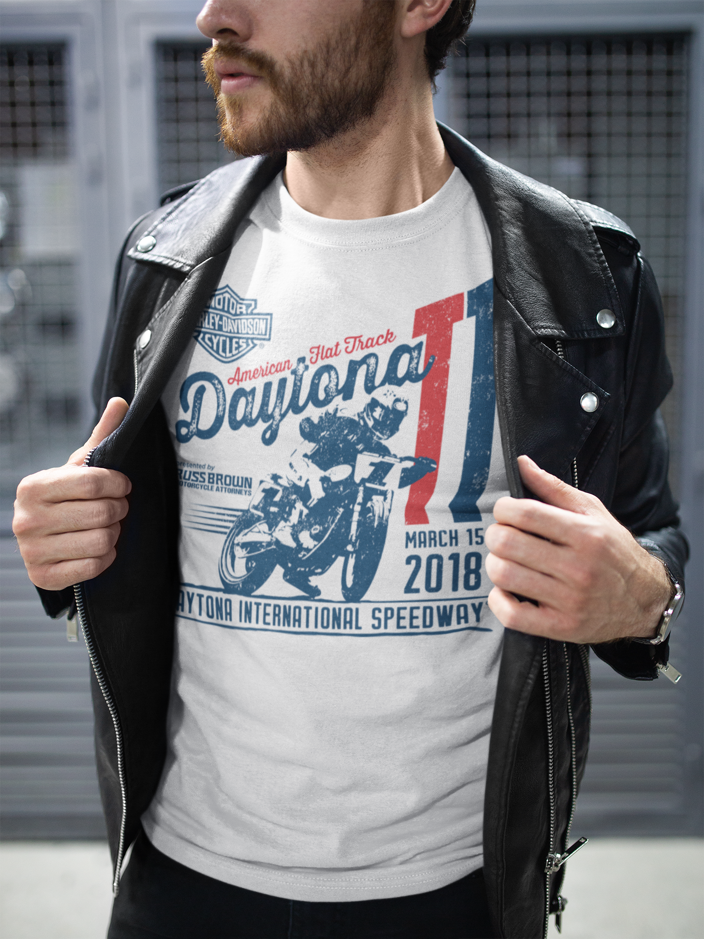 Event: 2018 DAYTONA TT - Men's S/S White