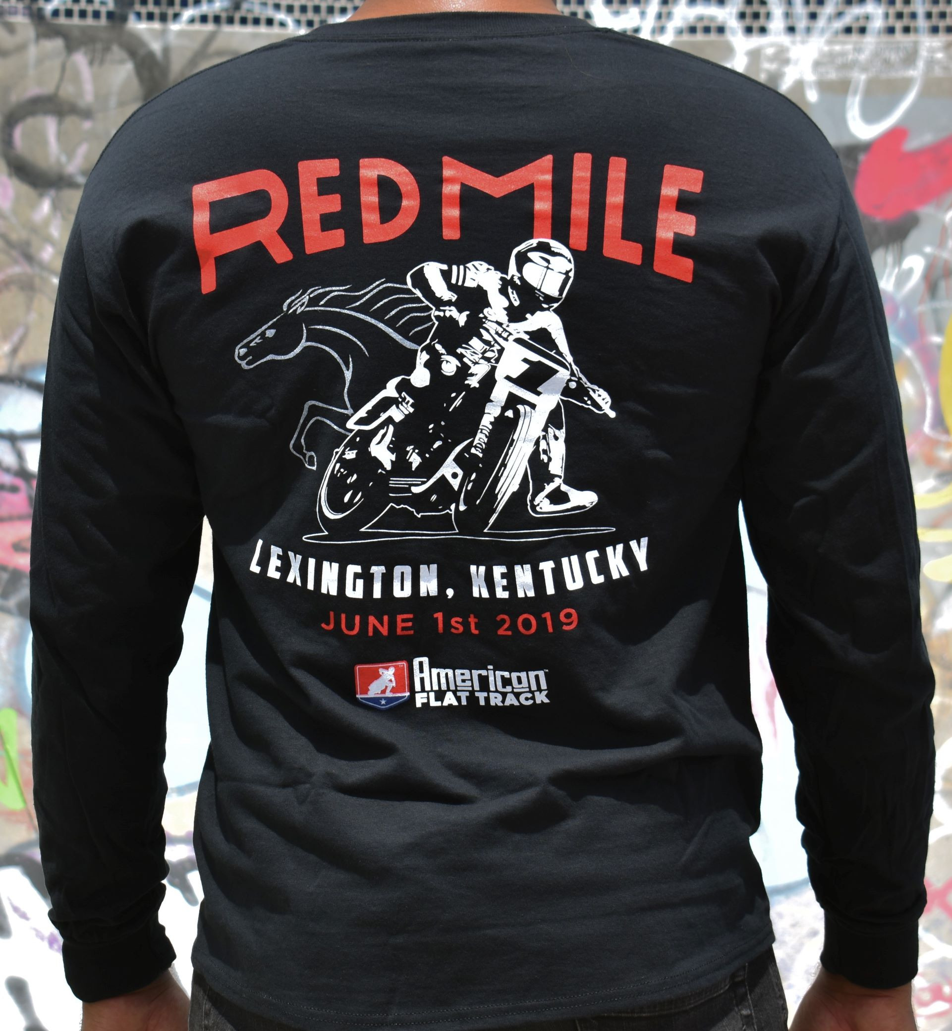 2019 Red Mile Long Sleeve Event T-Shirt