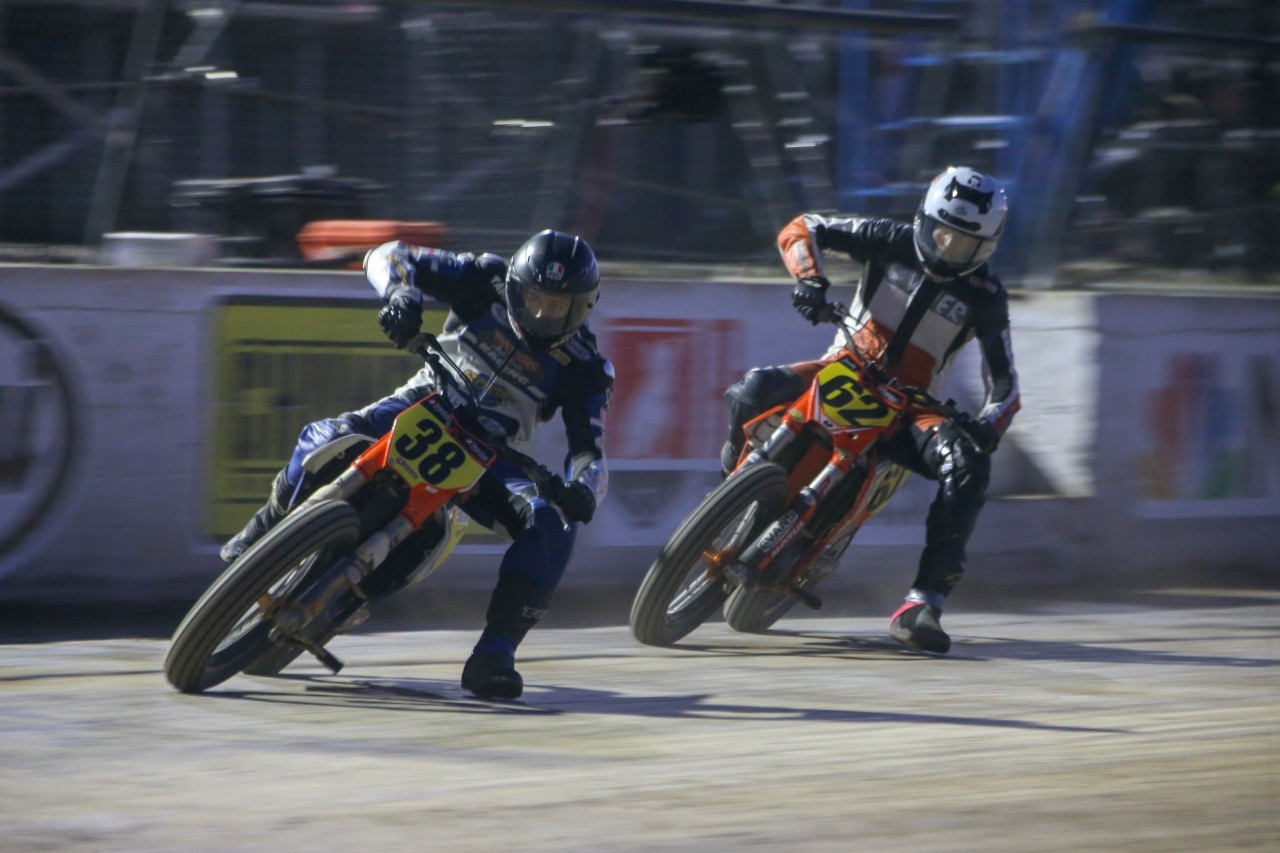 Mission Foods New York Short Track II Pres. By Mad Max Indian Motorcycle