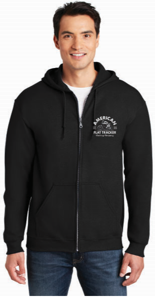 AFTCC: Men's Zip-Up Crest Hoodie