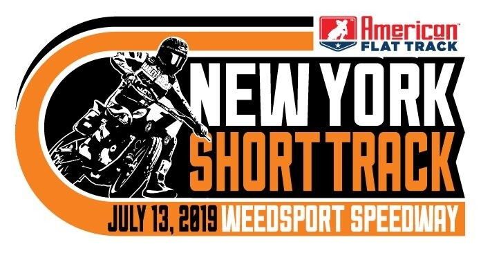 2019 New York Short Track Event Sticker