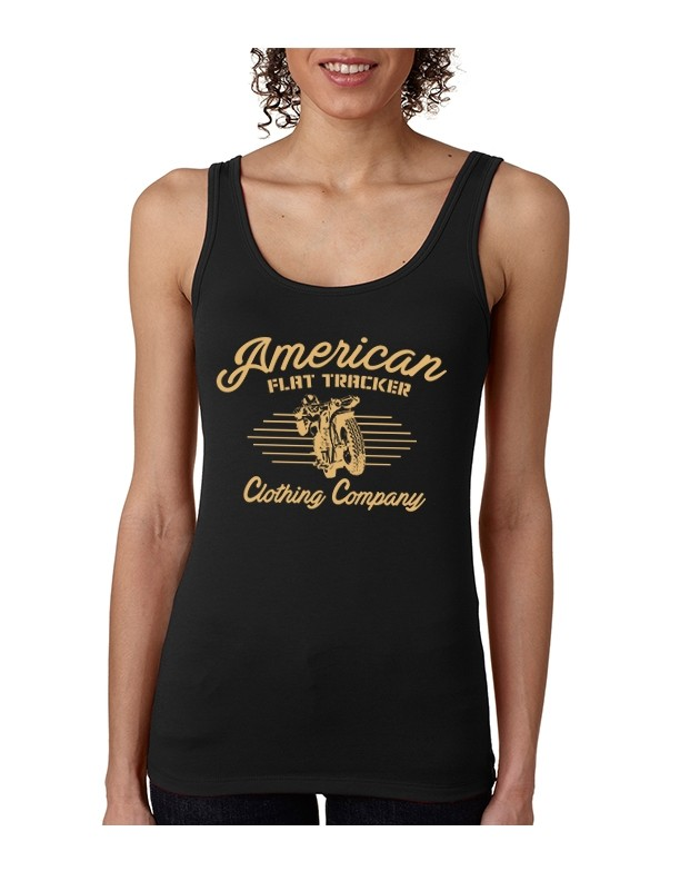 AFTCC: Women's Black Vintage Racer Tank Top