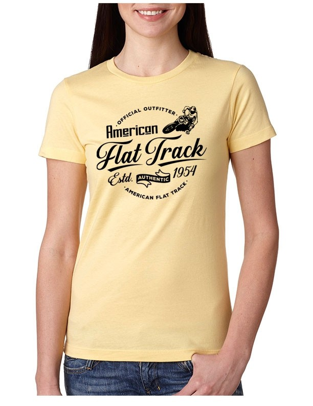 AFTCC: Women's Light Yellow Authentic T-Shirt