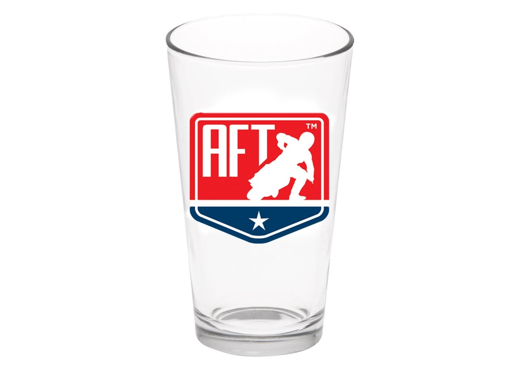 Pro Line: AFT Shield Logo Pint Glass