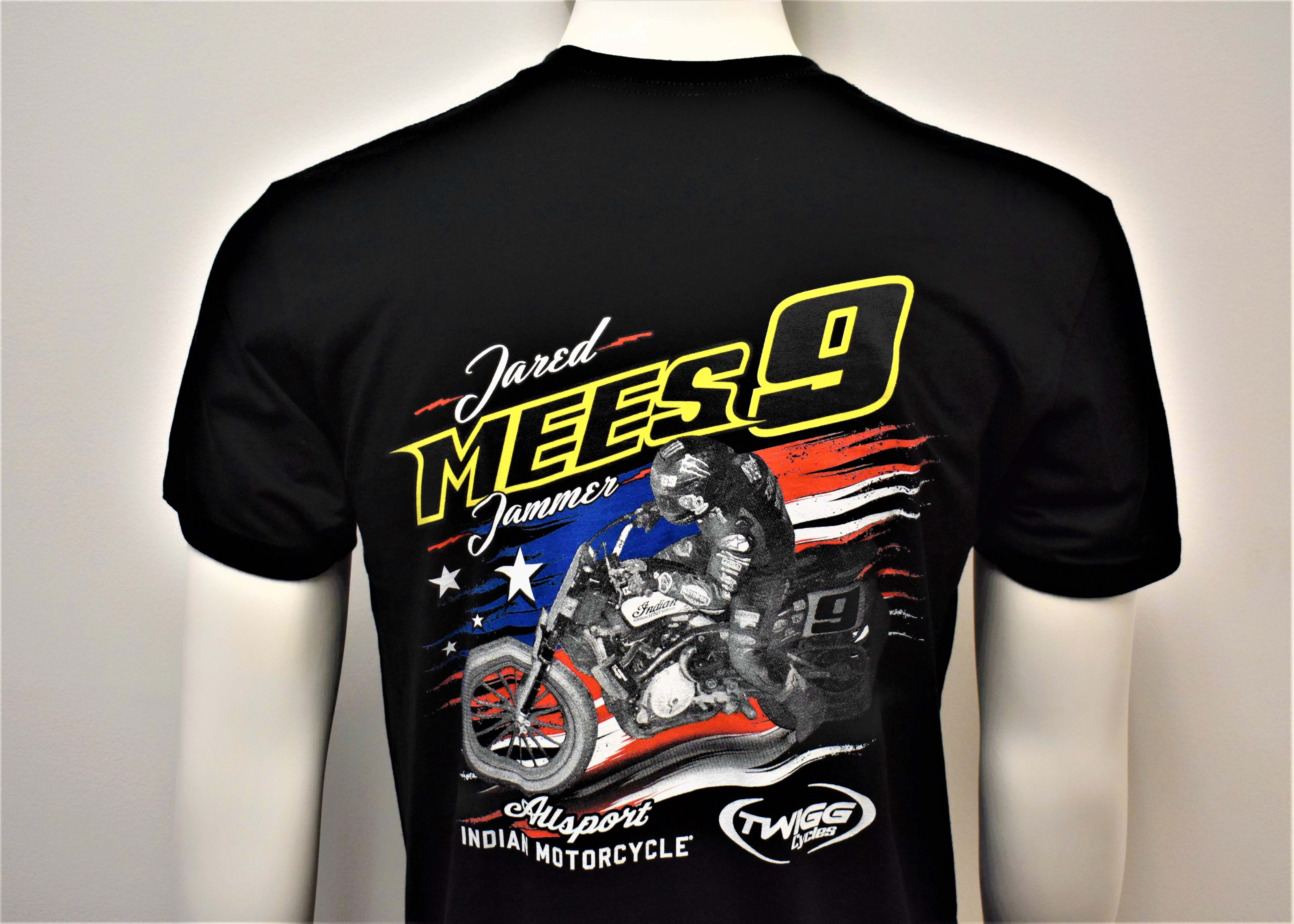 Jared Mees: #9 Jammer Black T-Shirt