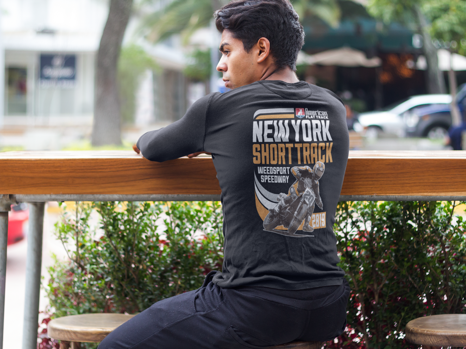 2019 New York Short Track Long Sleeve Event T-Shirt