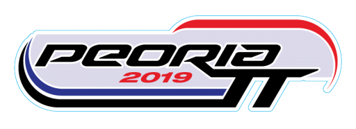 2019 Peoria TT Event Sticker