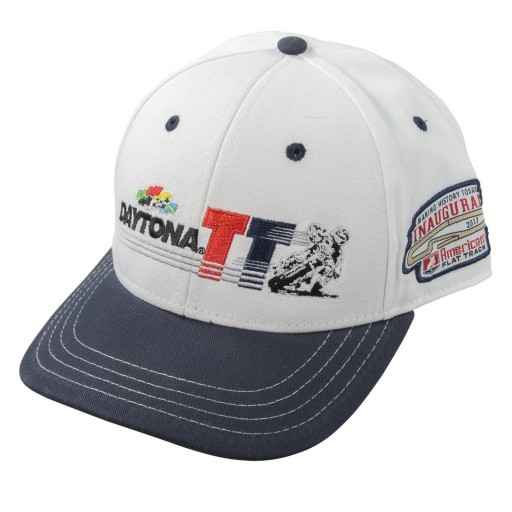 Event: 2017 Hat - Daytona TT Snapback White Navy