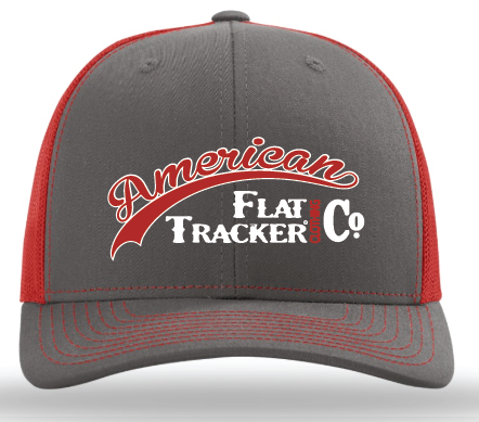 AFTCC: 2018 Hat -  Snapback Charcoal Red