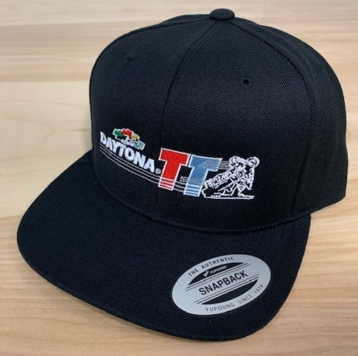 Event: 2019 Daytona TT -  Snapback Hat Black