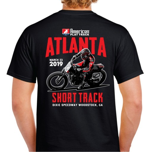 Event: 2019 Atlanta - Men's T-Shirt Black