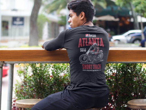 Event: 2019 Atlanta - Men's Long Sleeve T-Shirt Black