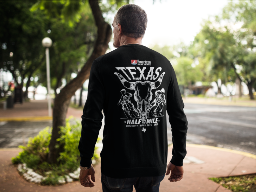 Event: 2019 Texas - Men's Long Sleeve T-Shirt Black