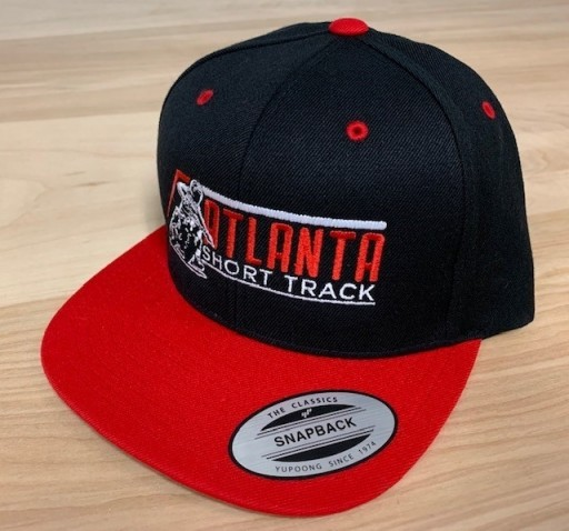 Event: 2019 Atlanta -  Snapback Hat Black Red