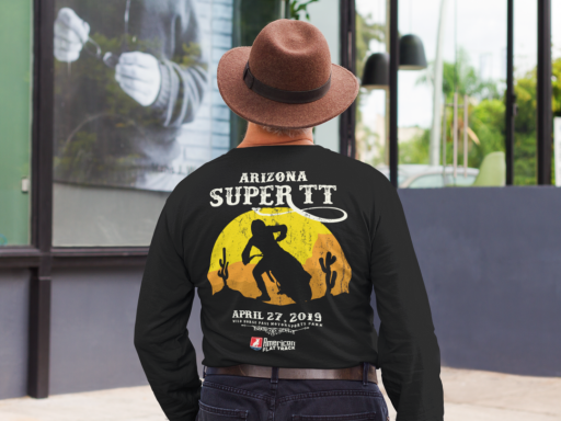 Event: 2019 Arizona - Men's Long Sleeve T-Shirt Black