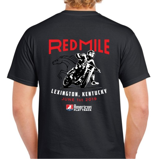 2019 Red Mile Black Event T-Shirt