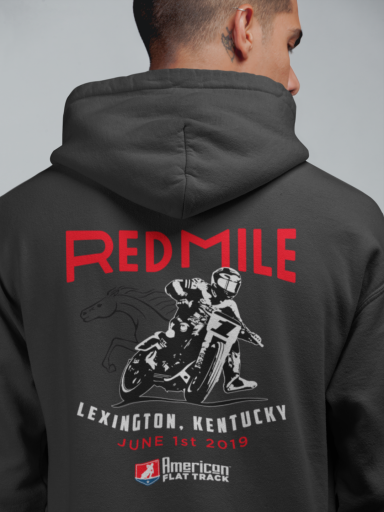 Event: 2019 Red Mile - Men's Hoodie Black