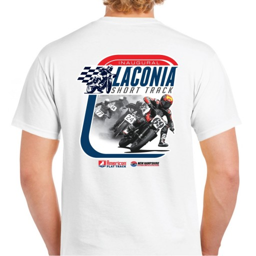 Event: 2019 Laconia - Men's T-Shirt White