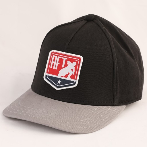 Pro: 2019 Fitted Hat -  Shield Black Grey