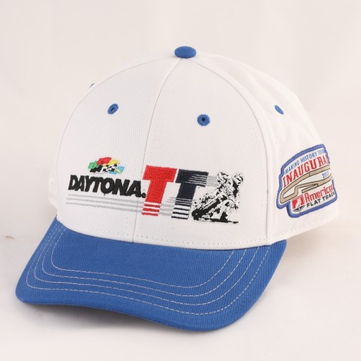 2017 Daytona TT Men's White/Blue Snapback Event Hat