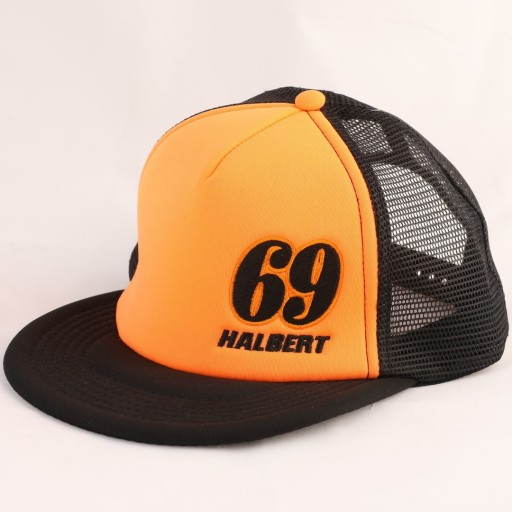 Sammy Halbert Orange 69 Hat